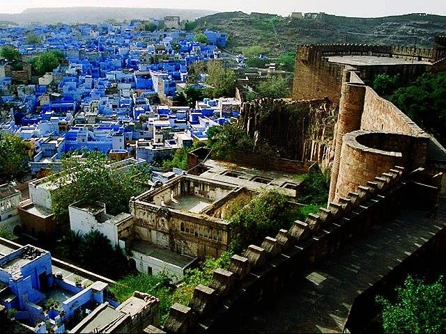 Blue City at Jodhpur, India
