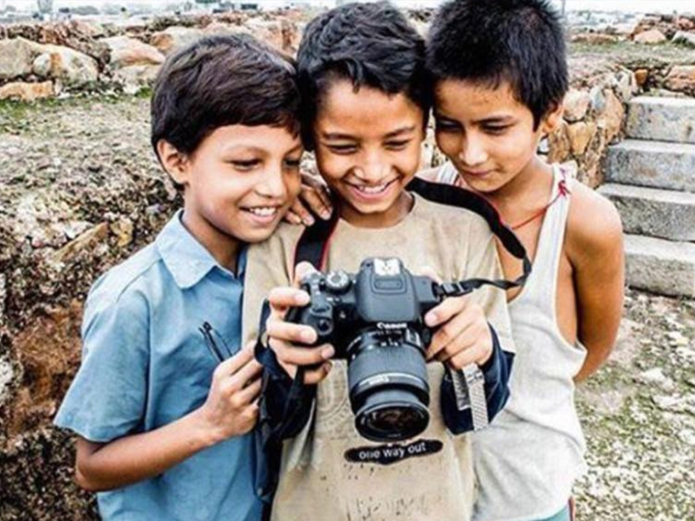 Boys with camera feature