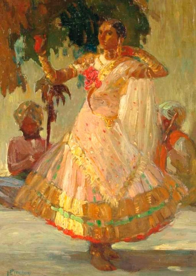 Danseus indienne